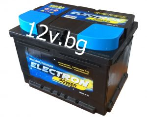 Акумулатор 12/62 R+   ELECTRON