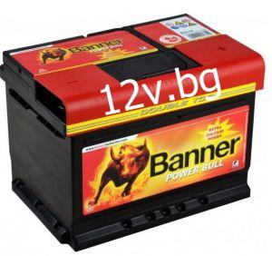 Акумулатор Banner POWER BULL 12/62 Ah R+